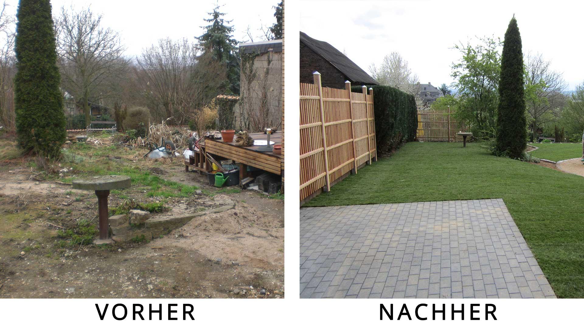 Emejing Garten Und Landschaftsbau Vorher Nachher Ideas - Rellik.us ...